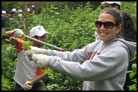 American Students Engage in Community Service While Israel Fights Latest War
