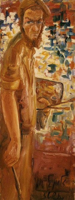 Chassidic Artist Zalman Kleinman, by Zalman Kleinman 1956