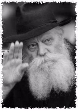 Le Rabbi, Rabbi Mena'hem Mendel Schneerson, de mémoire bénie, le matin où il subit un accident vasculaire cérébral. (Photo: Fridrich Vychinski)