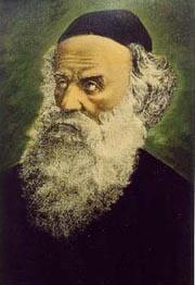 Rabbi Chnéour Zalman de Lyadi (1745-1812), fondateur de 'Habad