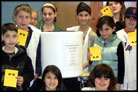 NY Students Burying Time Capsule