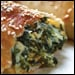 Spinach and Cheddar Calzone