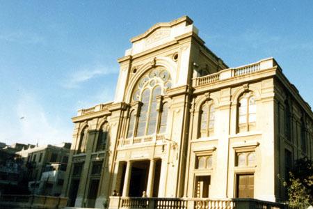 """בית הכנסת של הרמב""""ם באלכסנדריה. קרדיט: ספריית אגודת חסידי חב""""ד"""