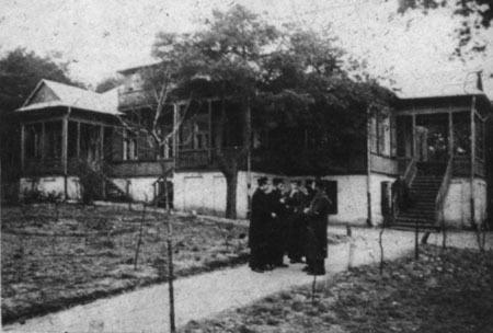 The Tomchei Tmimim Lubavitch school in Otwock, Poland. (Agudas Chassidei Chabad Library)