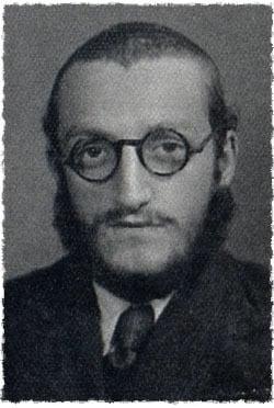 Chaim Meir Bukiet, age 18, at the Lubavitch school. (courtesy of Chaim Rosenberg)