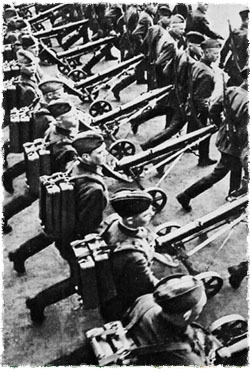 The Soviet Army prepares for war