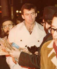 """Judaism on the road,"" discussing Judaism on the streets of Manhattan in the 1970s"