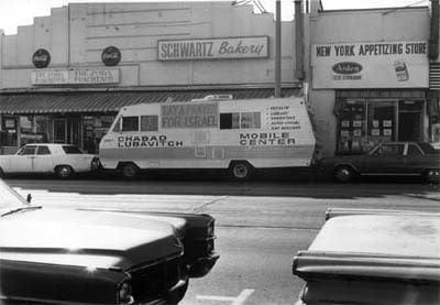 "One of the first ""Mitzvah Tanks"" in Los Angeles, California during the 1970s"