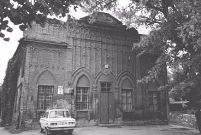 La synagogue de Rabbi Levi Itsh'ak Schneerson, le père du Rabbi