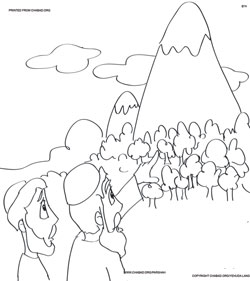 Parshah Coloring Book, click to print