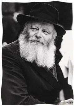 The Rebbe, Rabbi Menachem Mendel Schneerson, of righteous memory. (Photo: Neil Folberg)