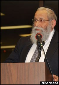 Rabbi Shalom B. Lipskar, founder of the Aleph Institute