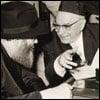 The Israeli President Visits the Rebbe