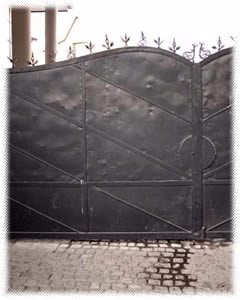 The gates of Oskar Schindler's factory