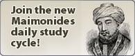 Maimonides Study Cycle