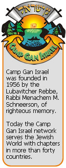 Camp Gan Israel Summer Camps
