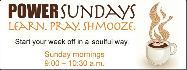 Sunday Minyan at JRCC West Thornhill