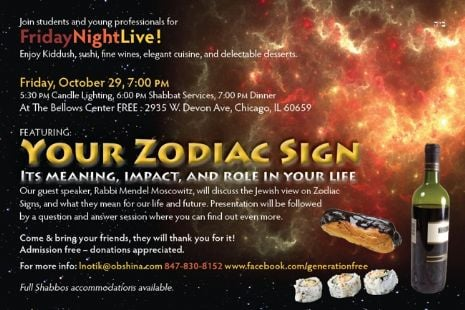Friday Night Live - Your Zodiac Sign