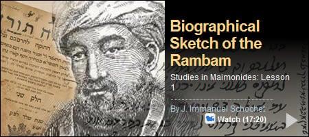 Rambam biography
