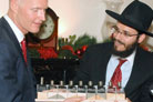 Florida's Incoming and Outgoing Governors Celebrate Chanukah