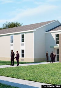 After the first phase of construction, the campus' dormitory will house upwards of 120 students.