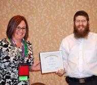 Rabbi Zalmy Award.JPG