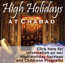 High Holidays at Chabad
