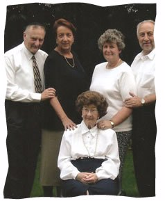 Gretl, of blessed memory, and her family