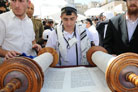 Colel Chabad Hosts Mass Bar Mitzvah for 110 Boys