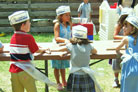 Lone Star Youth Bake Their Own Matzah