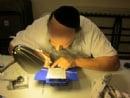 Mezuzah Campaign-Scribe @ Chabad