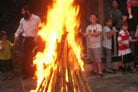 Jewish Unity Parades and Bonfires Commemorate Mystical Holiday