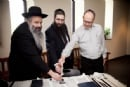 I had my letter written in the Chabad of Newton Centre's Torah at Gann Academy