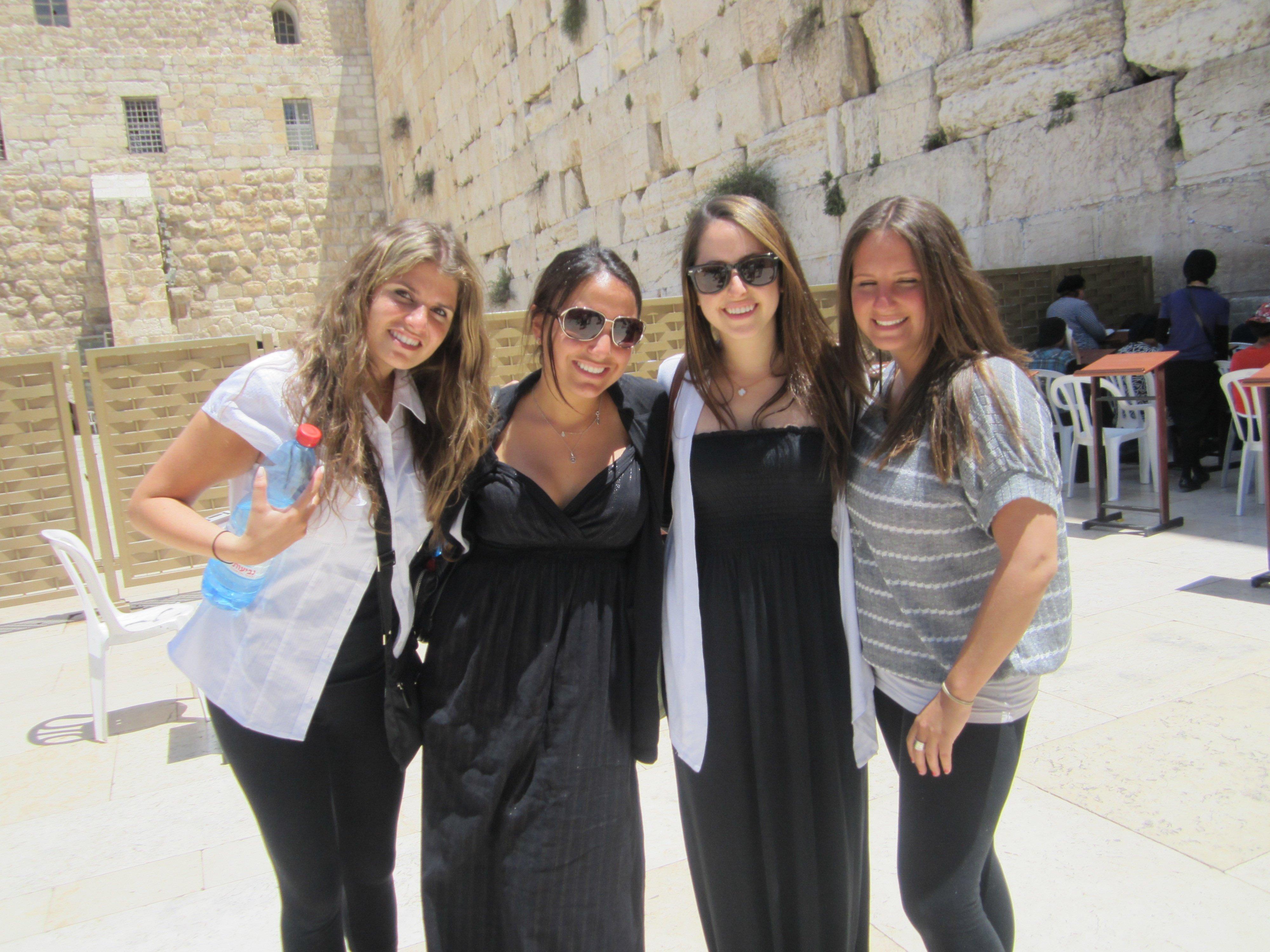 Girls at Wall
