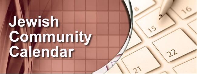 Chabad Calendar 2022.Community Calendar 5782 Chabad Of Northridge
