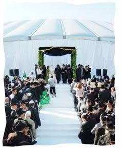 Moscow, 2011: The chuppa – marriage ceremony – in Sokolniki Park.