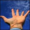 La mano curada
