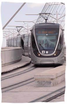 Le Tramway de Jérusalem (Photo: Matanya - Creative Commons)