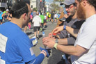 Jewish Community Offers Marathoners a Kosher Energy Boost