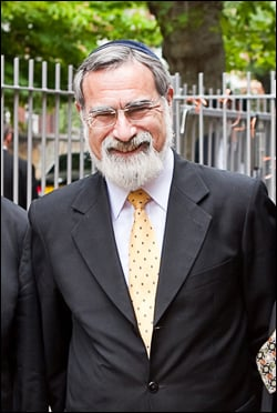 Le grand rabbin Lord Jonathan Sacks