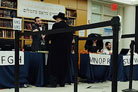 Opening Day at Rabbinical Conference: Thousands of Hungry Guests