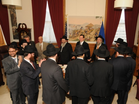 The Governor and Dancing Rabbis 01.jpg