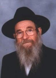 Rav Chalom Mendel Kalmenson d'Aubervilliers, de mémoire bénie