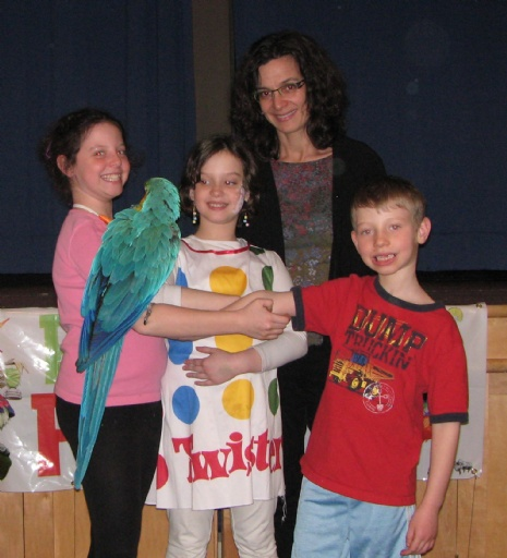 Purim Parrot Party