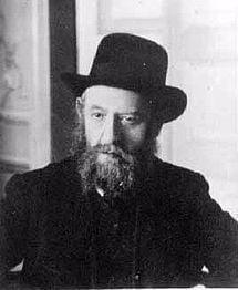 Rabbi Shalom DovBer Schneersohn (1860–1920), the fifth rebbe of Chabad-Lubavitch (known as the Rebbe Rashab)