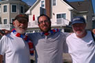 Fourth of July Beachgoers Enjoy Free Kosher Hotdogs