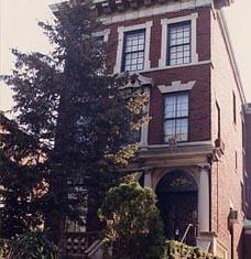 The Rebbe and Rebbetzin's Home President Street, Brooklyn