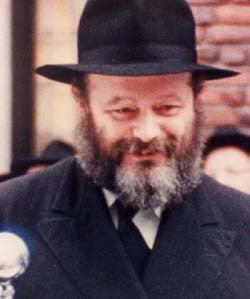 The Rebbetzin's Husband, Rabbi Menachem Mendel Schneerson, of righteous memory
