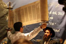 South Korea's Jews Celebrate Arrival of New Torah Scroll