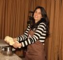 Challah baking at JWC